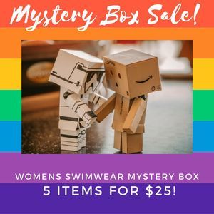 SWIMWEAR MYSTERY BOXES 5 NEW ITEMS FOR $25 WOMEN